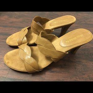 Tan Aerosoles Heels! Size 10.